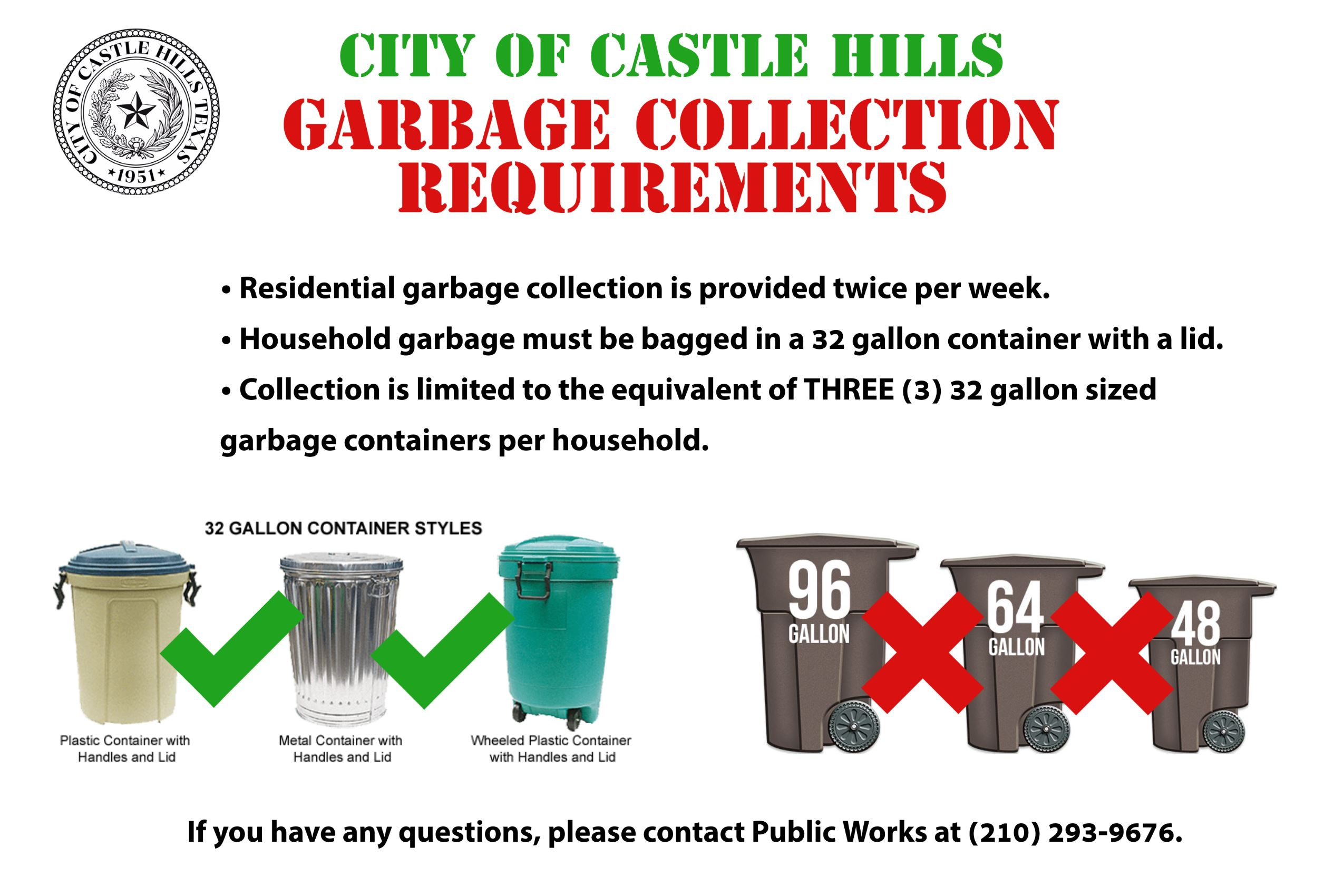Garbage Collection Flyer