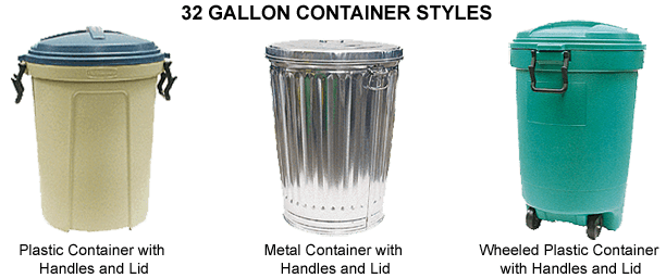 Garbage Can Styles_32 gallon