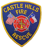 Castle Hills Fire Dept Patch