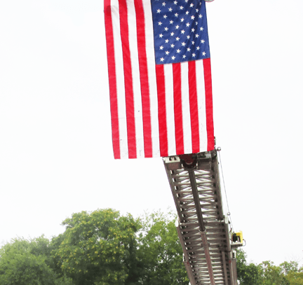 Slideshow_Fire Dept_9-11 flag